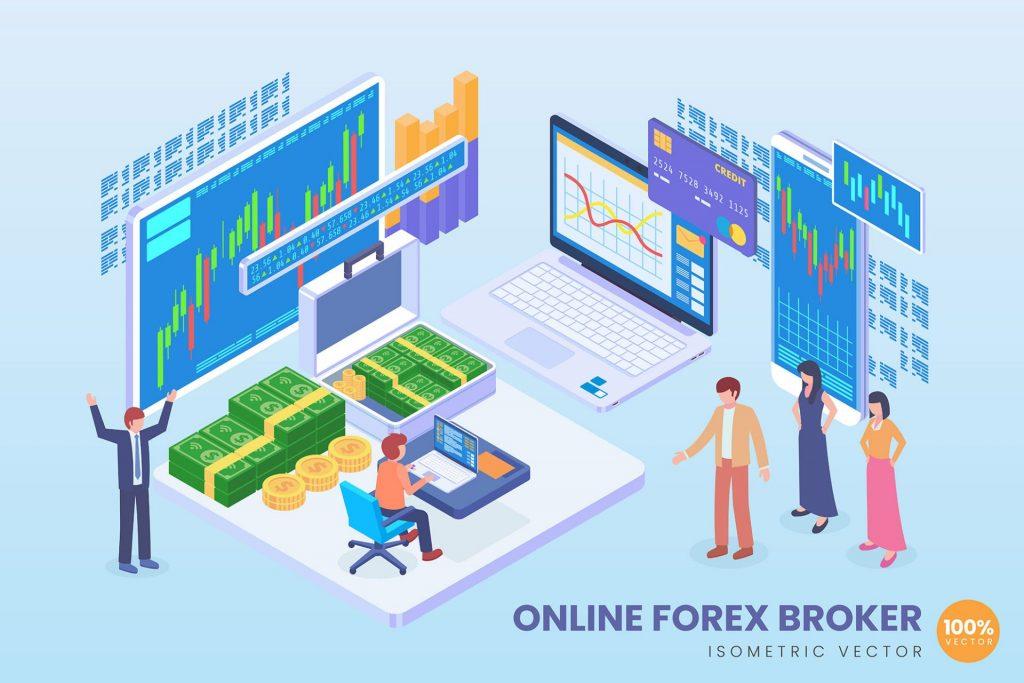 Rynek Forex dla początkujących inwestorów, broker online